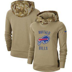 Women's Buffalo Bills Therma Pullover Hoodie